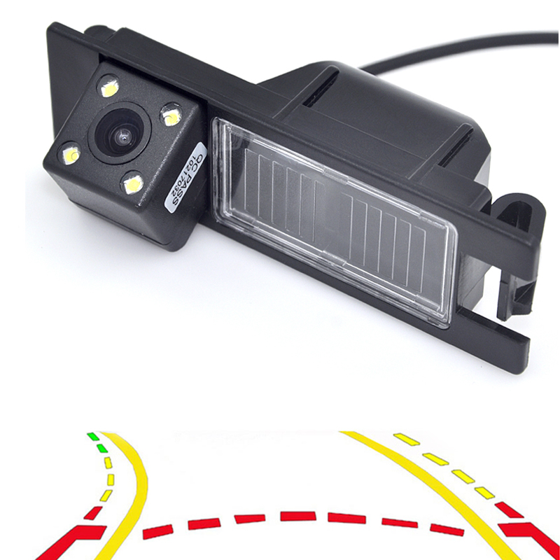 цена на Variable Dynamic Tracks Car Rear View Back Camera For Opel Astra H J Corsa Meriva Vectra Zafira Insignia FIAT Grande Buick Regal