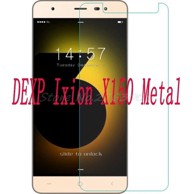 """Nuevo Teléfono Protector de pantalla de 2 piezas para DEXP Ixion X150 Metal 5,0 """"cubierta protectora de película de vidrio templado para SmartPhone"""