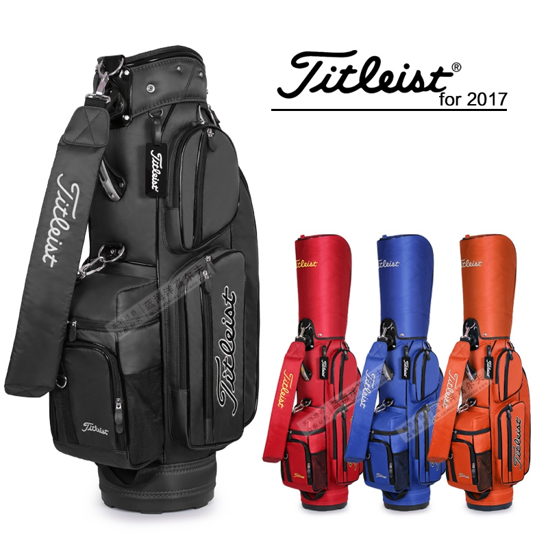 brand golf bag complete set stand bag water-proof Anti-Friction Golf Caddy Bag cart staff golf bags mizuno aerolite x golf stand bag white royal page 1