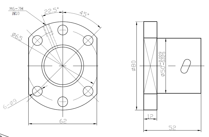 1 шт. SFU1204/1604/1605/2004/2005/2010/2505/2510/3205/3210 шарикового винта станков шариковый винт один шариковая гайка с ЧПУ DIY вырезка деталей машин - Цвет: sfu3205-4 single nut