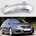 1 Conjunto Para VW Volkswagen Passat B5/B6 GOLF 5/6 V/VI SHARAN JETTA 3/III 1991-2010 Car styling Espelho Piscas Laterais luzes