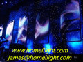 LED starlit cloth with strobe effect Led star curtain for perfect proposal/wedding/birthday party