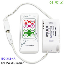 цены DC12V-24V 8 keys RF remote LED Dimmer CV PWM Dimmer Controller for SMD 5050 3528 single color LED Strip Lighting tape