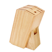 Cutting Head Accessories Kitchen Tool Stand Knife Holder Eco friendly Storage Rack Rubber Cutter Storage Multifunctional Wooden