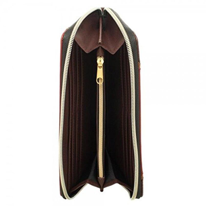 Harry Potter's Hogwarts Gold Crest Zip Up Wallet (4)