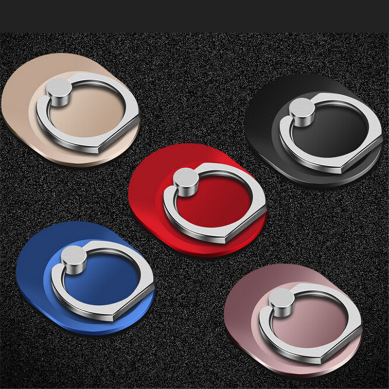 360 Degree Luxury Oval Finger Ring Smartphone Stand Holder Mobile Phone Holder Stand For iPhone Xiaomi Huawei All Smart Phone Car phone