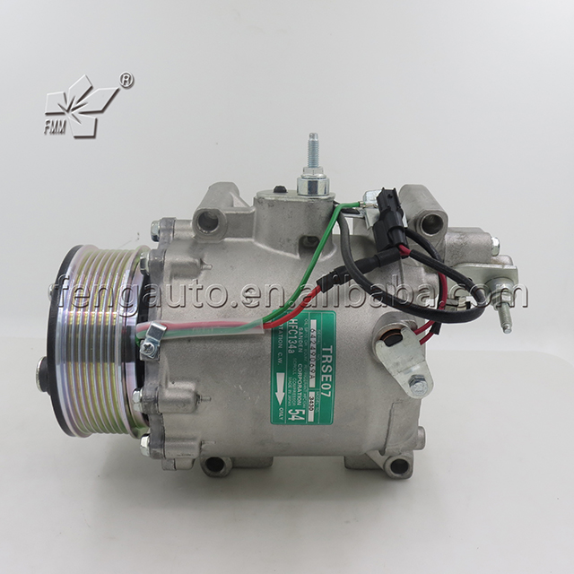 Generous 3411 Auto Ac Compressor Trse07 For Honda Crv/civic 2.0 Activating Blood Circulation And Strengthening Sinews And Bones Air Conditioning & Heat
