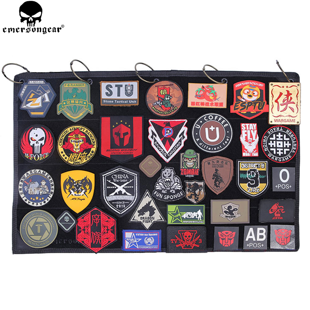 patch collection book