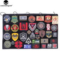 EMERSONGEAR Patch Collection Book Tactics Accessories Peripheral Products Patch Collection Book WG Black
