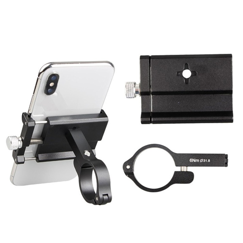 4 color Universal Aluminum Alloy Rotatable Bike Bracket Handlebar Phone Holder for Smartphones Support Motorcycle Mount