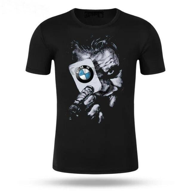 New Casual T Legal Venda Quente 100% algodão Joker i8 M3 fãs T-Shirt do carro Cartão de carro presente engraçado camiseta camisa Alemanha carro BMW 5 M4