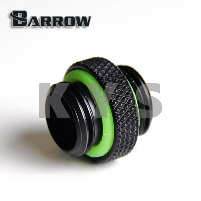 Barrow G1/4 Double Male Thread Mini Joint Fitting Connector TB2D-MINI01 2pcs 50pcs brass pipe fitting hex nipple joint 1 81 4x1 81 43 8x1 83 8x1 4 npt male thread plumb water gas connector accessory