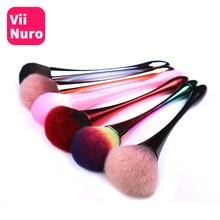 ViiNuro щетка для чистки ногтей, удаляющая пыль, порошок для дизайна ногтей, маникюра, педикюра, мягкая удаляющая пыль акриловая щетка для ухода за ногтями