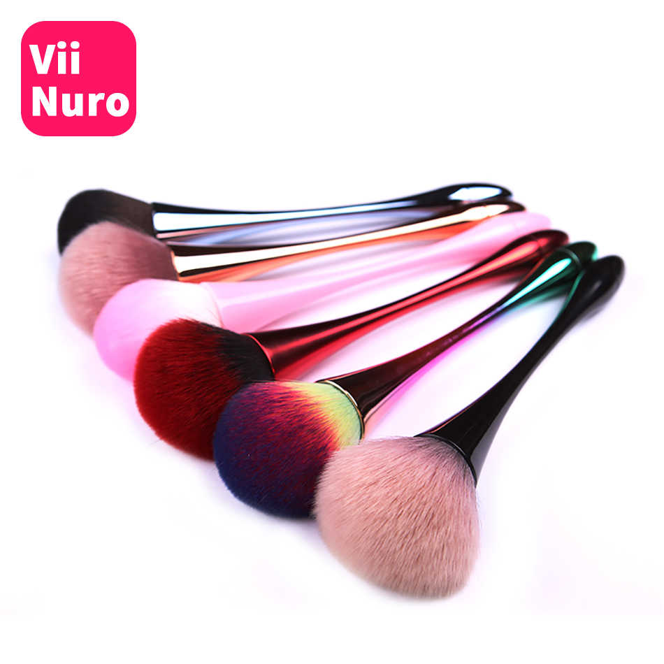 ViiNuro Nail Brush Cleaning Remove Dust Powder Nail Art Manicure Pedicure Soft Remove Dust Acrylic Clean Brush for Nail Care