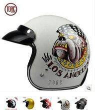 Free shipping authentic retro helmet half helmet TORC T50