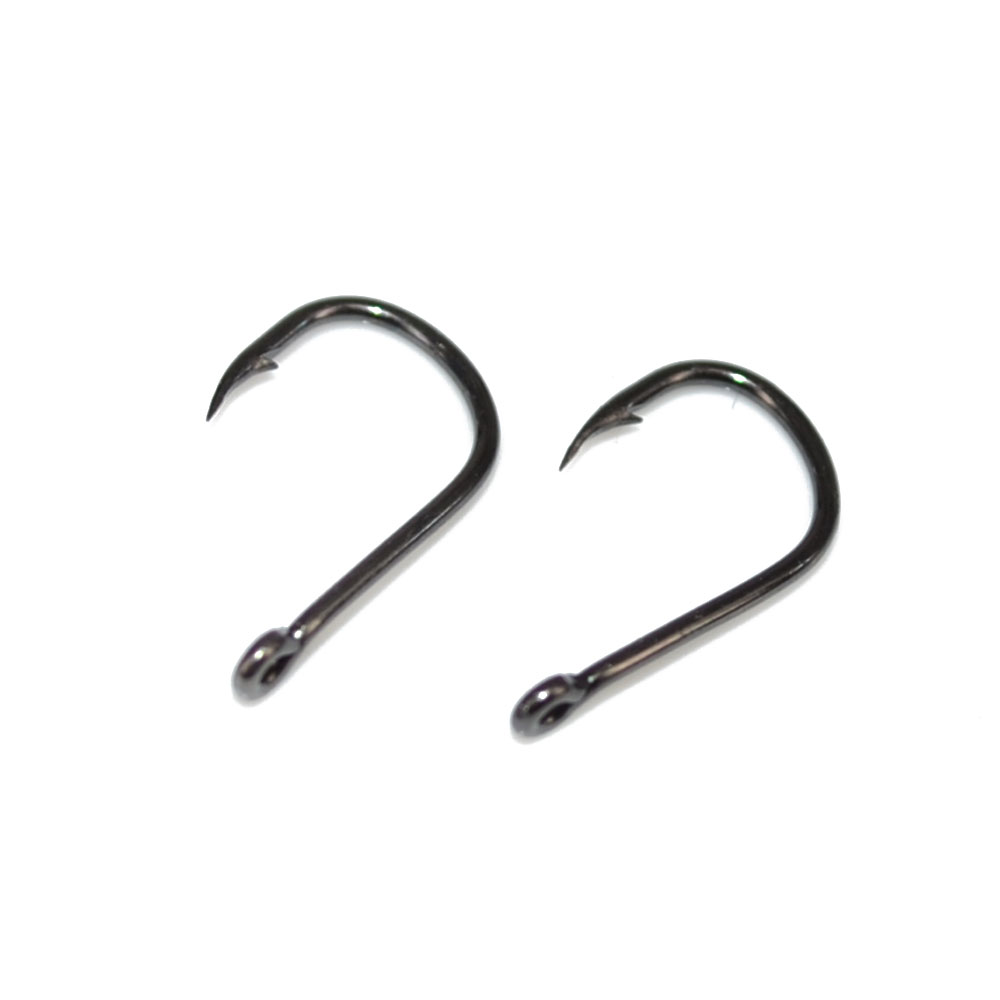 Carp fishing hook 100pcs high carbon steel barbed fishing for Barbed fishing hook