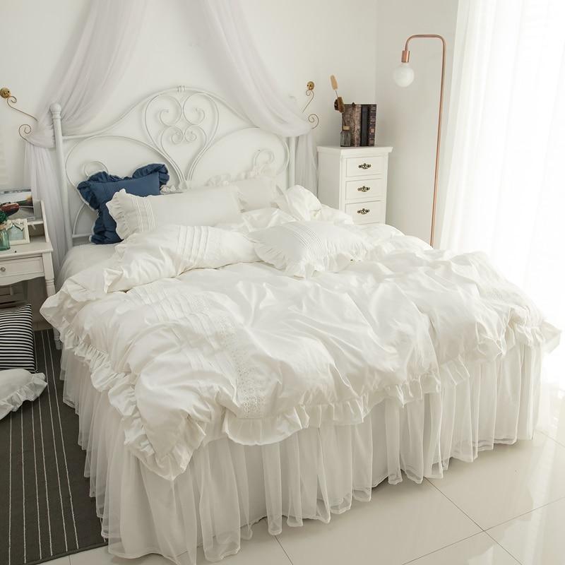 White Duvet Cover Set Bed Linen