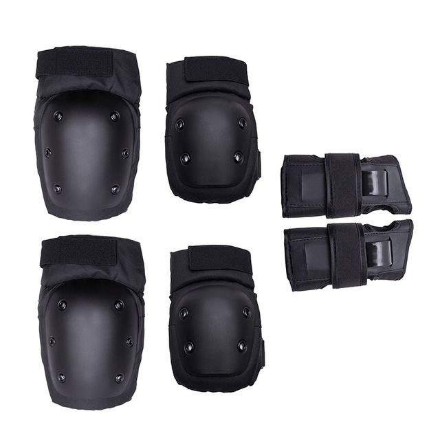 6 Pieces/Set Unisex Skating Protective Gear Knee Elbow pads wrist Guard Cycling Skateboard Ice Skating Roller Skating Protector