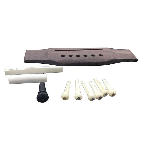 1 set Guitar subordinate folk guitar piano code set suit folk pure cow bone string pillow ebony tail column