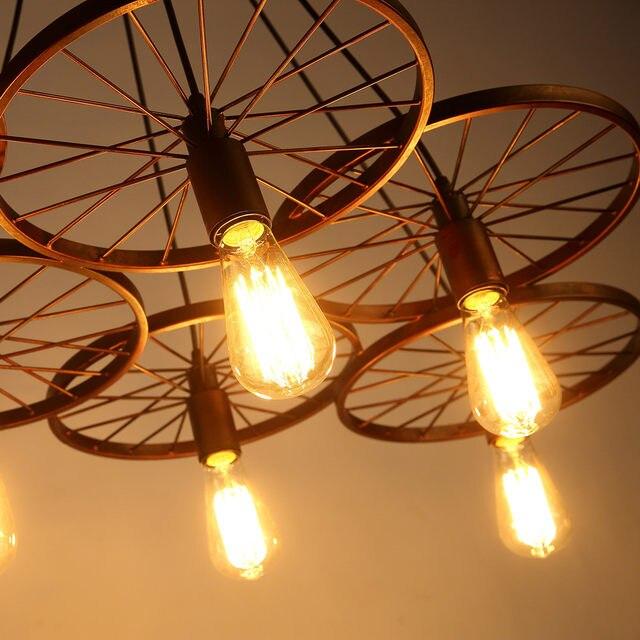 Tienda Online Industriales Grandes Luces Colgantes de Hierro Forjado ...