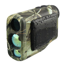 Best price Laser Works Solar range finder Black color 6X scope high quality compact size light weight laser rangefinder