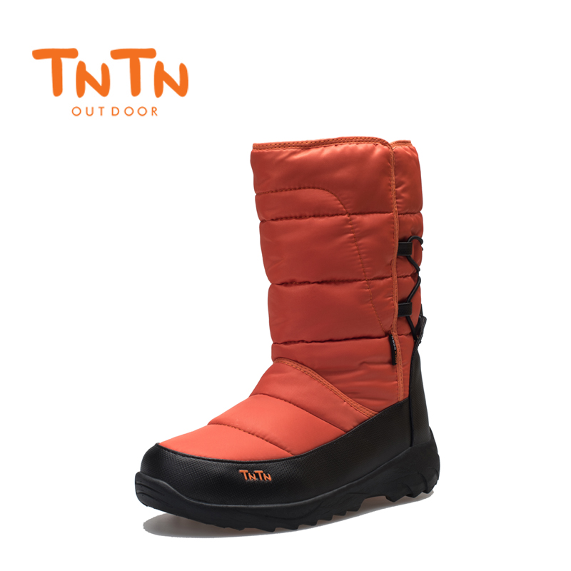 Men's Women's Duck's Down Warm Winter BootS Waterproof Shoes Snow Wools Skiing 100% High Quality Leisure New image