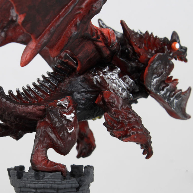 New WOW Deathwing Neltharion in Cataclysm Action Figure MMORPG Video Game Dragon Model Game Players Fan Collection Desk Decor 3