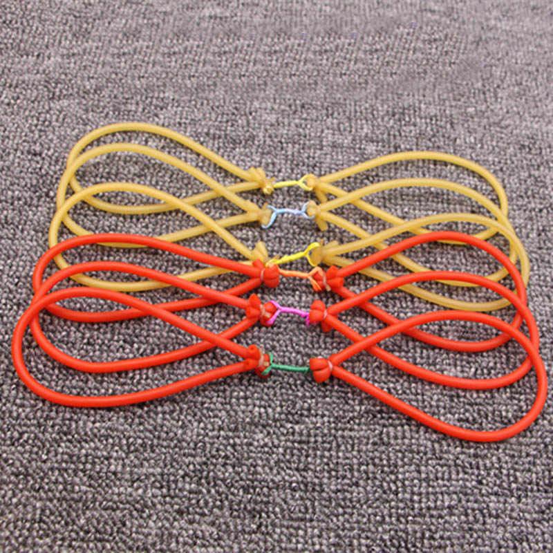 5 ピース/ロットスリングゴムバンドキャッチするため使用釣りパチンコゴムチューブパチンコラテックスゴム屋外ハンティング用