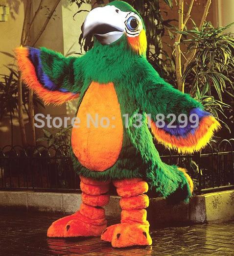 Mascotte Patty perroquet mascotte costume fantaisie personnalisé fantaisie costume cosplay thème mascotte carnaval costume