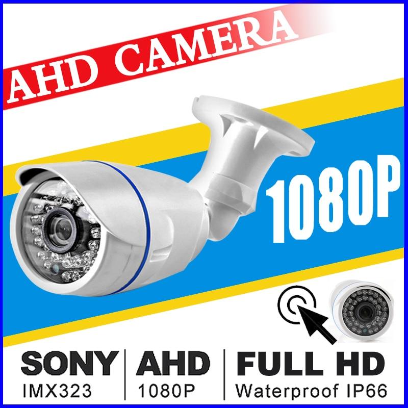De julio de gran venta 720 p/960 P/1080 p 3000TVL 2.0MP HD CCTV AHD Cámara FULL HD 2.0MP noche visión al aire libre ip66 infrarrojos bala Vidicon