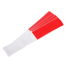 Hot sale 20Pcs Automobile Car Body Reflective Rim Sticker Wheel Decal Tape Bike Motorcycle Car Red-white