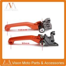 цена на CNC Pivot Brake Clutch Levers For KTM SXF SX XC XCF XCFW XCW EXC SMR EXCR SXR XCRW 250 350 400 450 500 505 525 530 06-13