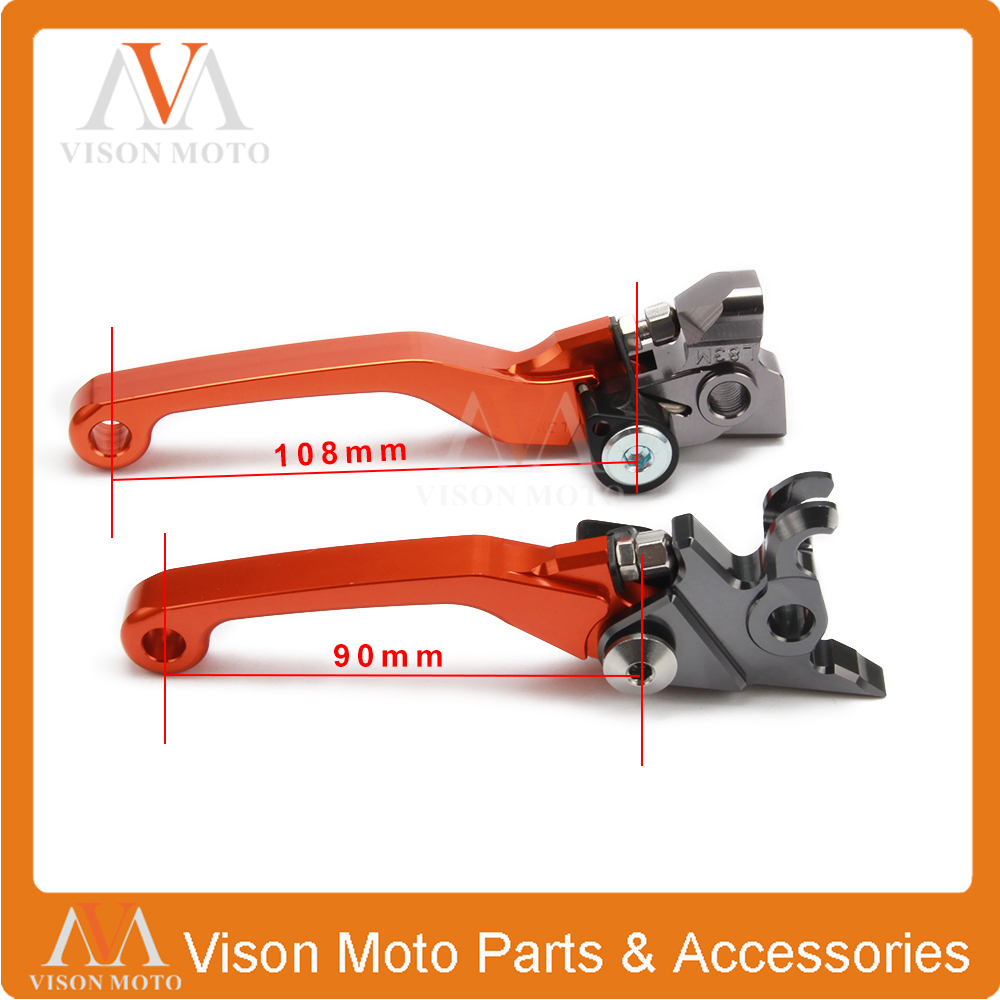 CNC Pivot Brake Clutch Levers For KTM SXF SX XC XCF XCFW XCW EXC SMR EXCR SXR XCRW 250 350 400 450 500 505 525 530 06-13 replacment bare lamp sp lamp 038 for infocus in5102 in5106