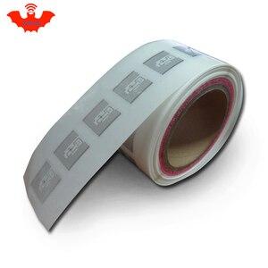 Image 2 - Etiqueta RFID adhesiva UHF Alien 9629 incrustación húmeda 915mhz 900 868mhz 860 960MHZ Higgs3 EPCC1G2 6C etiqueta adhesiva inteligente RFID pasiva