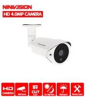 Home HD 1/3'' CCD 2560*1440P CCTV Camera HD 4.0MP Outdoor Bullet Waterproof IR CUT 36 IR leds Surveillance Security Camera