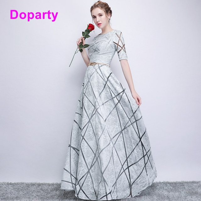 Doparty XS4 2018 formal women turquoise luxury floor length emerald ...