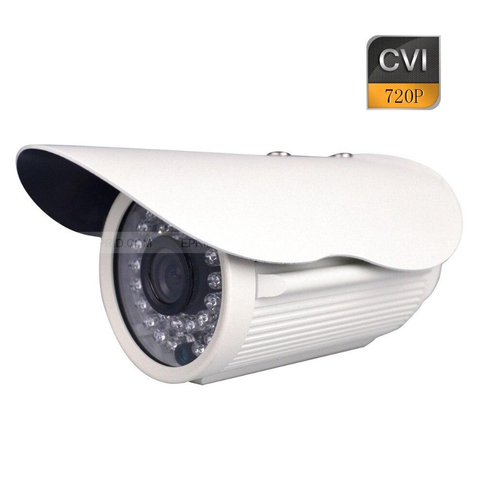 HD CVI 720P 1.0MP CCTV Security Bullet Camera Waterproof 36IR LEDs 6mm Lens hd ahd security cctv camera 720p 1mp outdoor bullet weatherproof 36ir leds night vision ir color 3 6mm 1080p lens