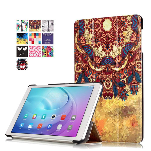 T2 Pro 10 Flip Pu Leather Stand Case For Huawei MediaPad T2 10.0 Pro FDR-A01L FDR-A01W FDR-A03L A04Lcover +Screen Film+Pen image