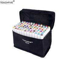 TouchFIVE 36 48 168 Colors Set Art Markers Alcohol Dual Headed Graffiti Pen Copic Markers Manga