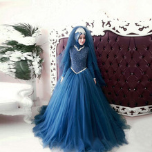 kejiadian Muslim wedding Dress Gowns Bride Dresses