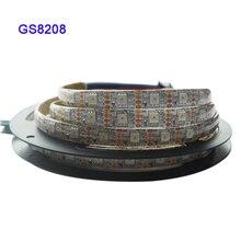 GS8208 smart pixel led strip;1m/3m/5m;30/60/144 pixels/leds/m;WS2811 Updated;DC12V,IP30/IP65/IP67,Black/White PCB,5050 SMD RGB цена в Москве и Питере