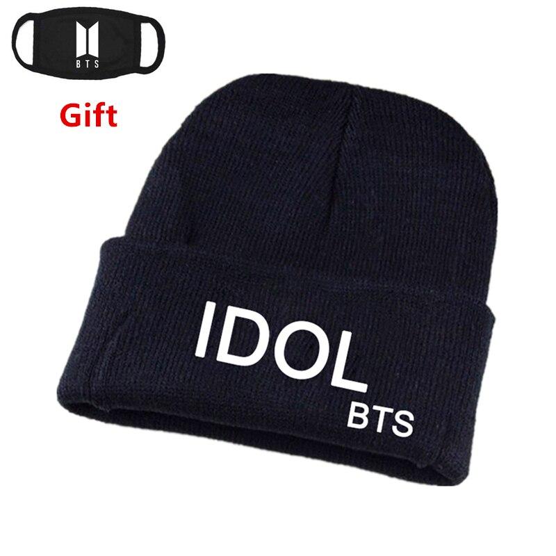 BTS Bangtan Boys   skullies     beanies   idol men women hip hop Rapper DJ Bboy Popper dancer knitted hat