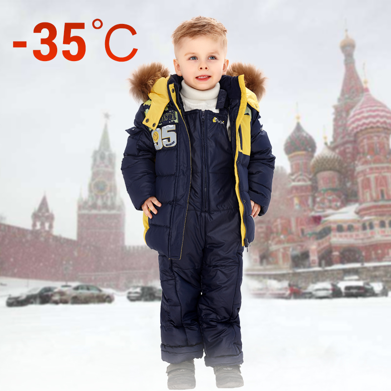 Skiing Jackets Boys Girls Kids Children Ski Suit Waterproof Ski Jacket Snow Pants Thermal Boys Girls Winter Outdoor Hooded Clothes Costume Set Factory Direct Selling Price
