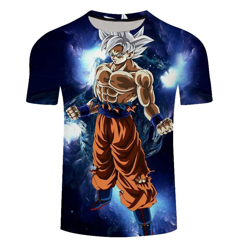 Men Harajuku T shirt 3D Print Dragon Ball Master Roshi t-shirt Long Sleeve Shirt