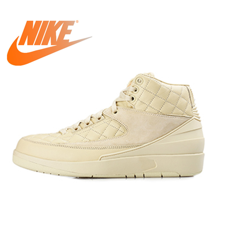timeless design f8982 f98af US $939.13 |Official Original Nike Air Jordan 2 Retro AJ2 Just Don Men's  Basketball Shoes Outdoor Sports Breathable Waterproof 834825 250-in ...