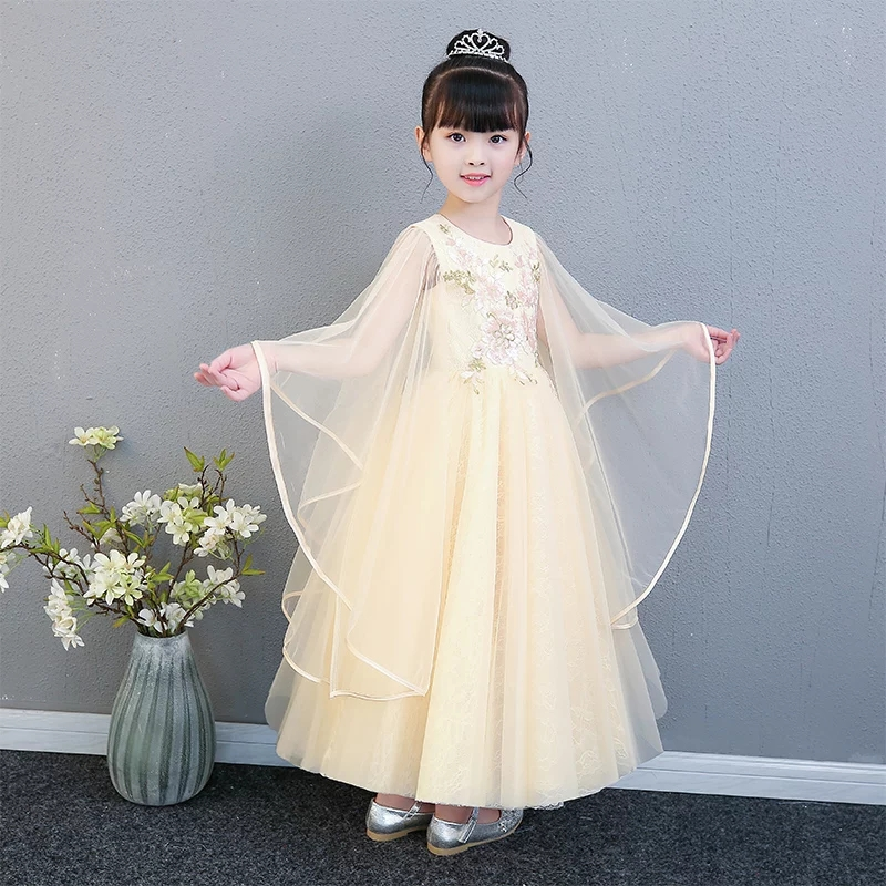 цены Summer Tutu Dress For Girls Dresses Kids Clothes Wedding Event Princess Lace Dress Birthday Party Costumes Children Clothing