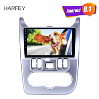 Harfey for Renault Duster/Logan 2009 2013 9 inch Android 8.1 HD Touchscreen Bluetooth GPS Radio USB AUX support Carplay 3G WIFI