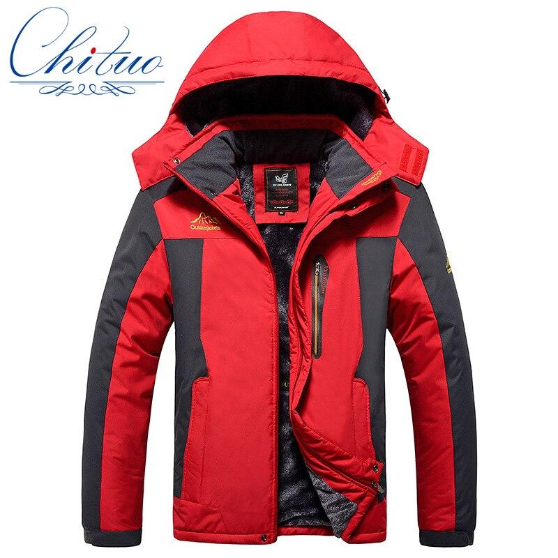 new winter big yards Plus thick velvet Men s coat jacket men s Wind and waterproof