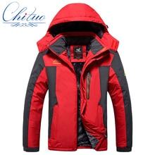 Новые зимние большие ярдов Плюс толстый бархат мужская куртка пальто мужская Ветер и водонепроницаемый случайные теплая куртка размер L-4XL5XL6XL7XL8XL9XL