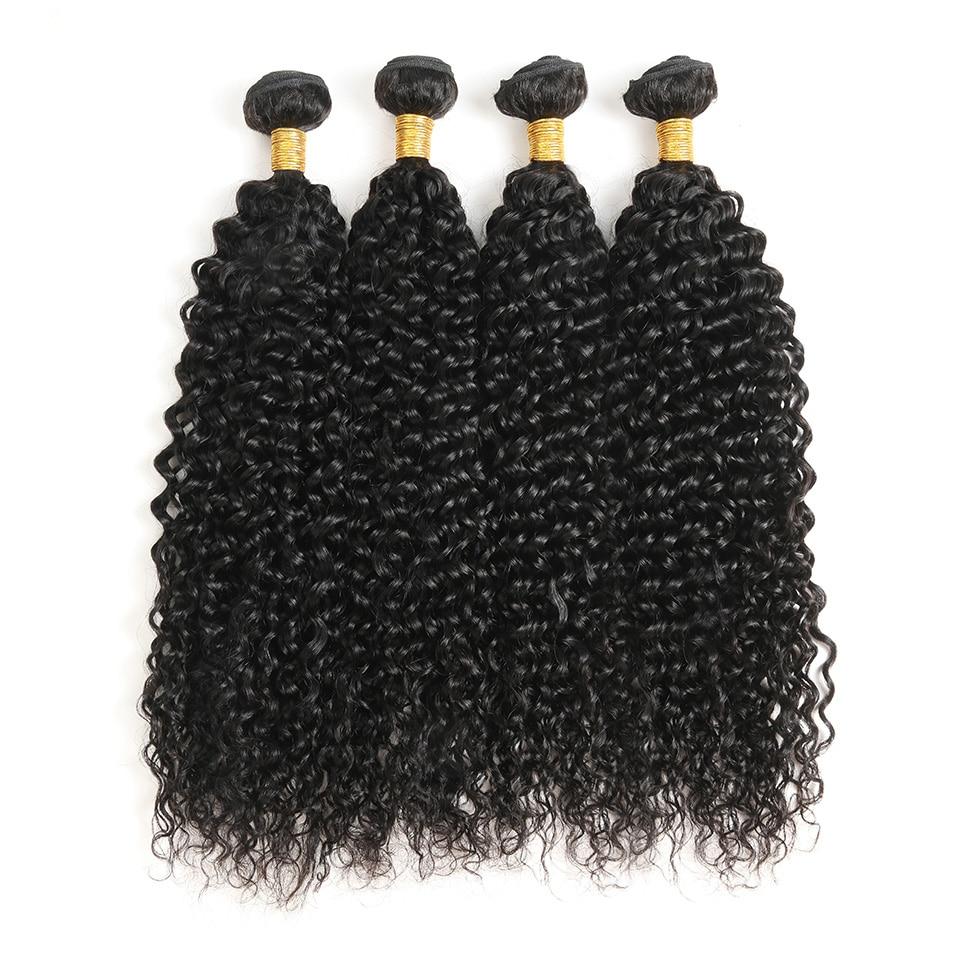 Angemessen 3/4 Bundles Menschliches Haar Wasser Welle Bundles Malaysische Remy Haarwebart Verlängerung Natürliche Schwarze Farbe Für Frauen 8-30 Zoll Doppel Schuss Echthaarverlängerungen Haarverlängerungen